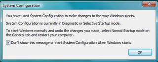 System configuraton utility